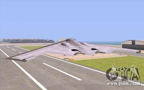 B-2 Spirit for GTA San Andreas left view