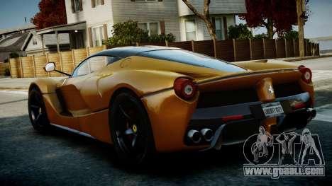 Ferrari LaFerrari v1.2 for GTA 4 right view