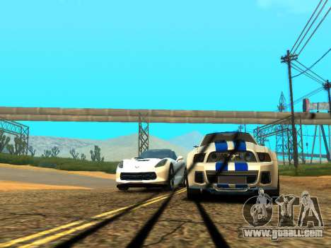 ENBSeries Realistic Beta v2.0 for GTA San Andreas