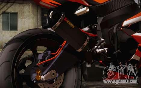 Ninja ZX6R Stunt Setup for GTA San Andreas right view
