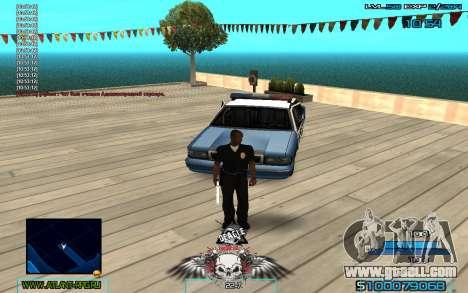 C-HUD by Extazy v1.1 for GTA San Andreas