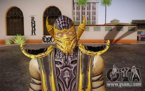 Scorpion из Mortal Kombat 9 for GTA San Andreas third screenshot