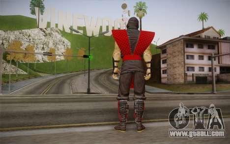 Classic Ermac из MK9 DLC for GTA San Andreas second screenshot
