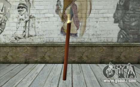 Spear for GTA San Andreas