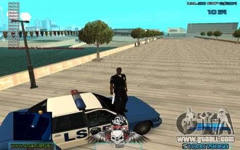 C-HUD by Extazy v1.1 for GTA San Andreas third screenshot