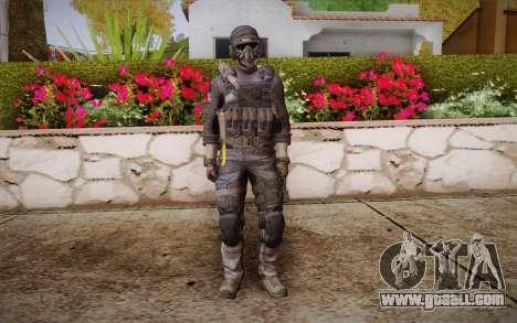 Kick из Call of Duty: Ghosts for GTA San Andreas