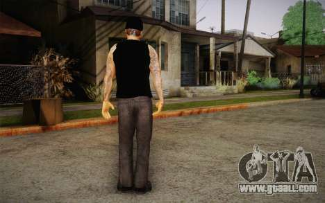 M. Shadows Skin for GTA San Andreas third screenshot