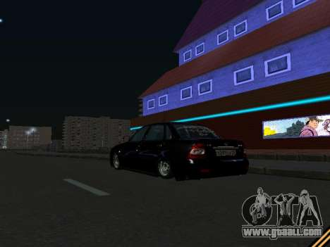 Lada 2170 Priora for GTA San Andreas side view