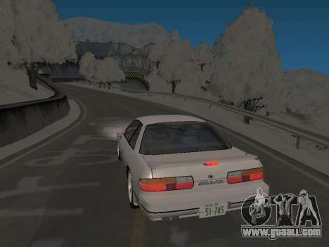 SinAkagi Snow Drift track for GTA San Andreas second screenshot
