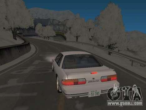 SinAkagi Snow Drift track for GTA San Andreas second screenshot