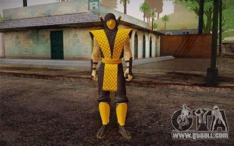 Classic Scorpion из MK9 DLC for GTA San Andreas