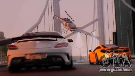 SA Beautiful Realistic Graphics 1.7 Final for GTA San Andreas second screenshot