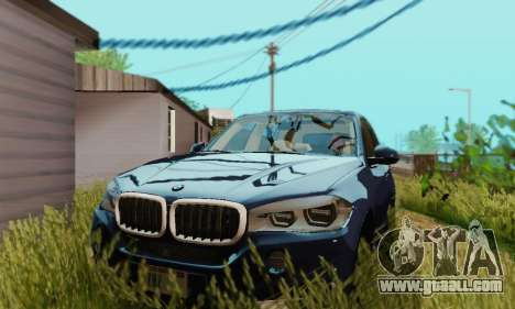 BMW X5 (F15) 2014 for GTA San Andreas