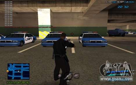 C-HUD by Miki for GTA San Andreas third screenshot