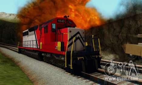 GTA V Trem for GTA San Andreas