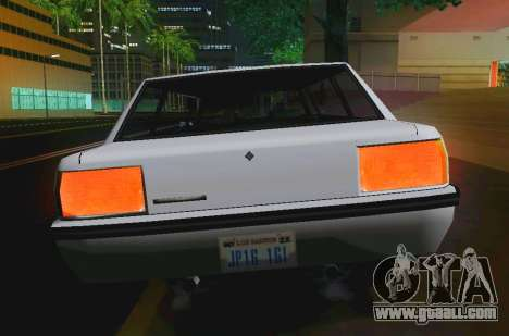 Vincent Limousine for GTA San Andreas right view