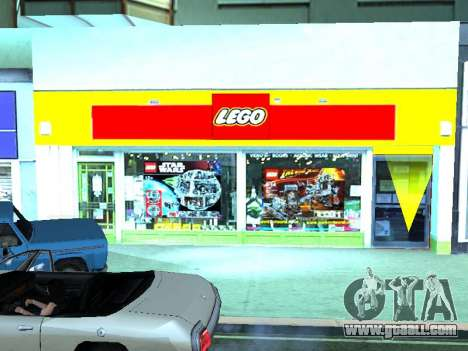 The LEGO shop for GTA San Andreas ninth screenshot