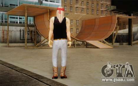 Axl Rose Skin v2 for GTA San Andreas second screenshot