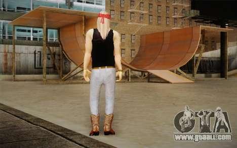 Axl Rose Skin v2 for GTA San Andreas second screenshot