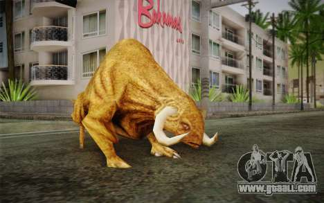 Sirian Werebull for GTA San Andreas