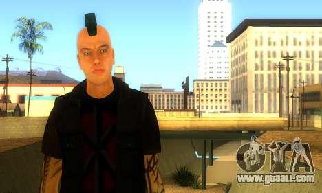 Punk (vwmycr) for GTA San Andreas second screenshot