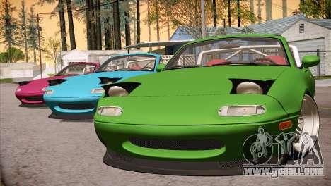 Mazda Miata Hellaflush for GTA San Andreas