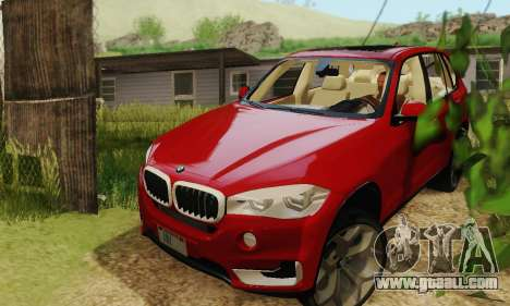 BMW X5 (F15) 2014 for GTA San Andreas right view