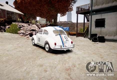 Volkswagen Beetle 1962 for GTA 4 left view
