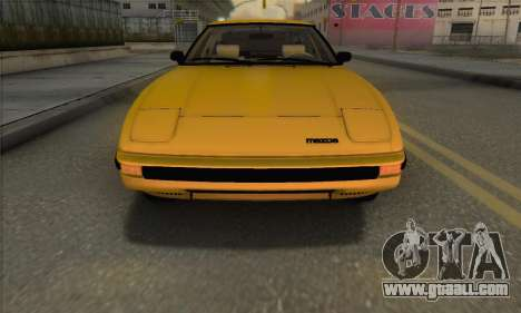 Mazda RX-7 GSL-SE 1985 IVF for GTA San Andreas side view