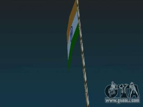Indian flag on mount Chilliad for GTA San Andreas second screenshot