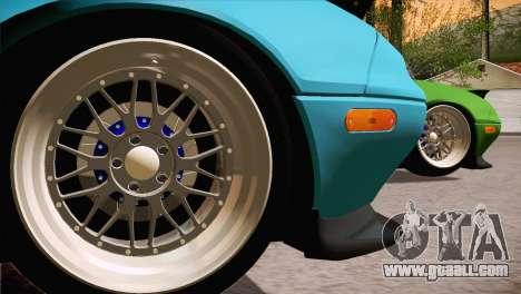 Mazda Miata Hellaflush for GTA San Andreas left view