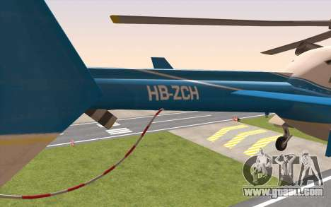 Bell 430 for GTA San Andreas back left view