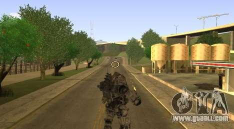TitanFall Atlas for GTA San Andreas fifth screenshot