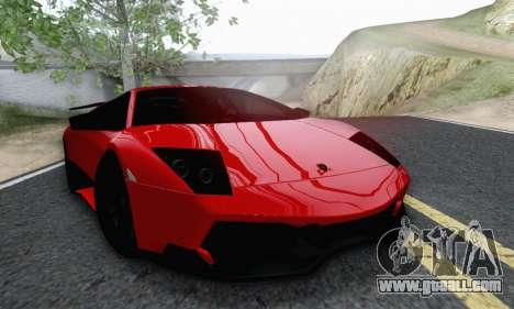 Lamborghini Murcielago LP670-4 SV for GTA San Andreas right view