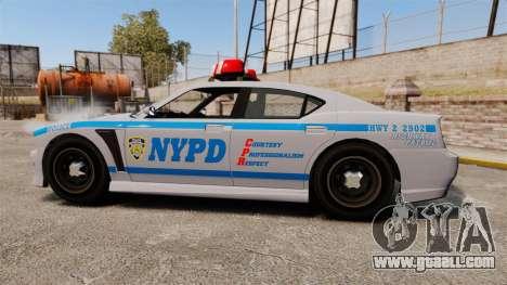 GTA V Bravado Buffalo NYPD for GTA 4 left view