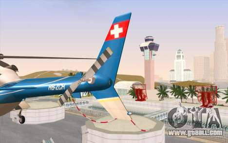 Bell 430 for GTA San Andreas back view