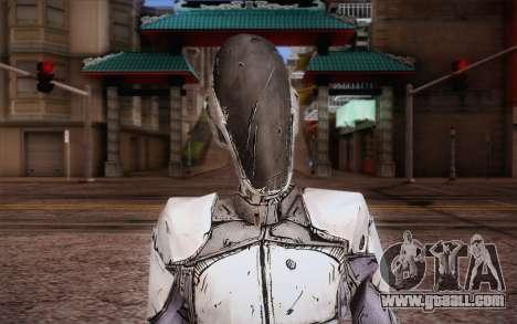 Zer0 из Borderlands 2 for GTA San Andreas third screenshot
