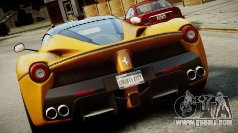 Ferrari LaFerrari v1.2 for GTA 4 interior