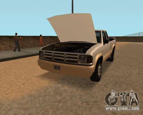 New Pickup for GTA San Andreas right view