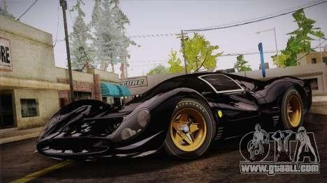 Ferrari 330 P4 1967 HQLM for GTA San Andreas
