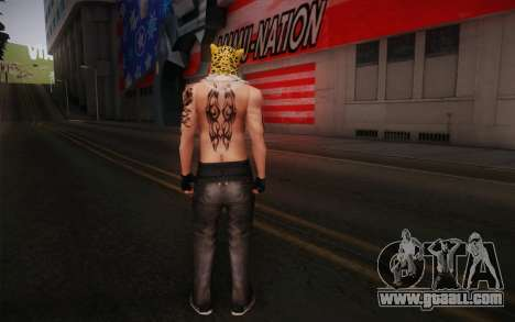 King from Tekken for GTA San Andreas second screenshot