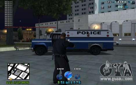 C-HUD by Mr.Riko for GTA San Andreas second screenshot