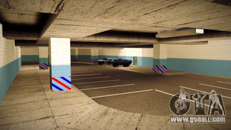 New garage LSPD for GTA San Andreas fifth screenshot