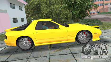 Mazda Savanna RX-7 III (FC3S) for GTA Vice City back left view