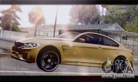 BMW M4 F80 Stanced for GTA San Andreas