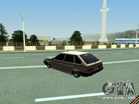 VAZ 2109 for GTA San Andreas back left view