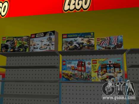 The LEGO shop for GTA San Andreas eighth screenshot