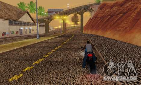 Heavy Roads (Los Santos) for GTA San Andreas sixth screenshot