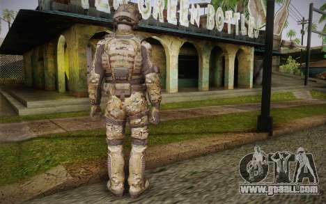 Crosby from Call of Duty: Black Ops II for GTA San Andreas second screenshot