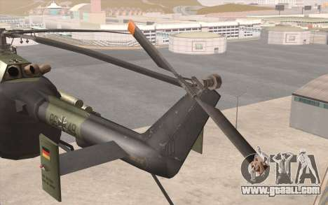 Bo-105 for GTA San Andreas right view